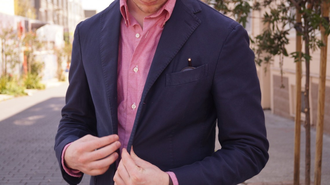 Khaki's-of-Carmel-Oxford-Shirt-men-jacket