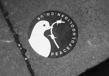 Peaceful Hooligan sticker 1