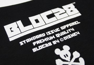 Bloc 28 By Disney Mickey Mouse Fist Mens T-Shirt Label