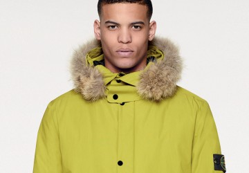 STONE ISLAND WATER REPELLENT SUPIMA