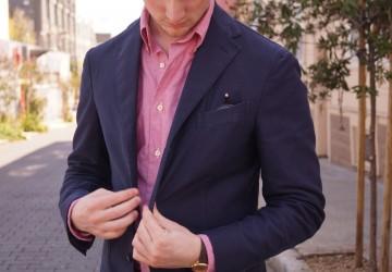 Khaki's-of-Carmel-Oxford-Shirt-men-jacket